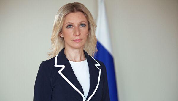 Il rappresentante ufficiale del Ministero degli Esteri russo Maria Zakharova - Sputnik Italia
