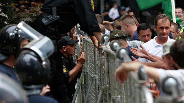 Proteste a Sarajevo, la capitale della Bosnia - Sputnik Italia