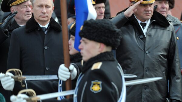Il presidente Putin e il ministro della Difesa Shoigu - Sputnik Italia