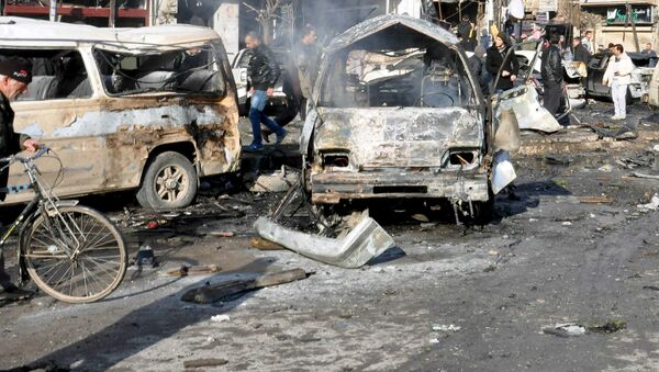 Attentato Homs, Siria - Sputnik Italia