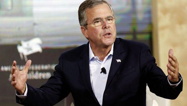 Republican presidential candidate, former Florida Governor Jeb Bush - Sputnik Italia