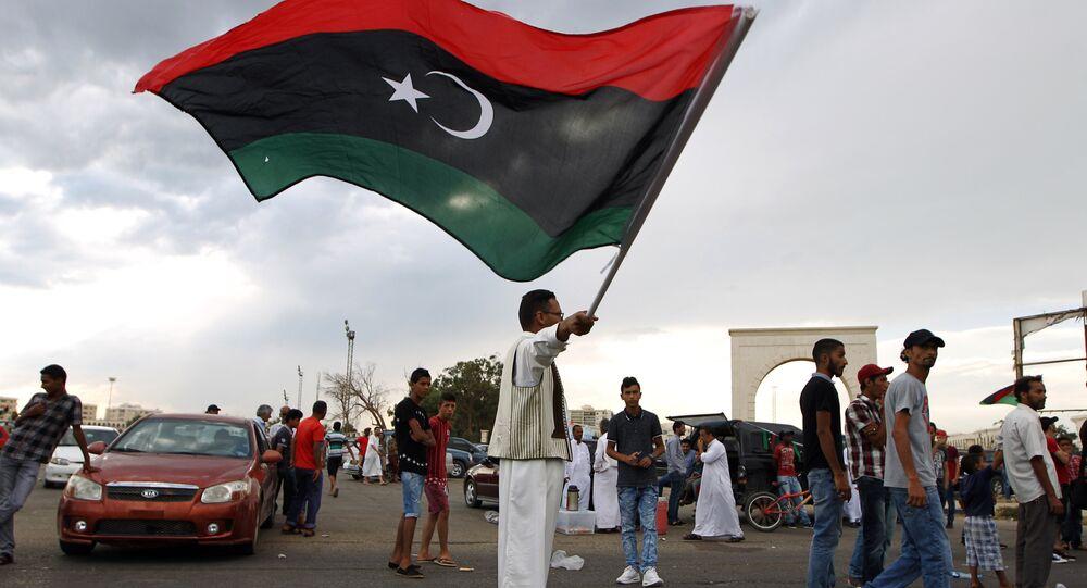 La bandiera libica