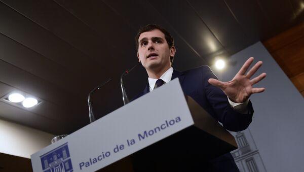 Il capo di Ciudadanos Albert Rivera - Sputnik Italia