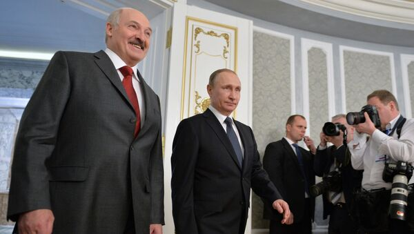 Lukashenko e Putin - Sputnik Italia