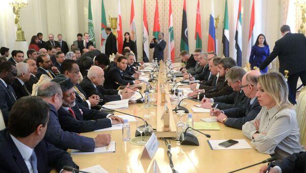 Incontro di Lavrov con Lega Araba - Sputnik Italia