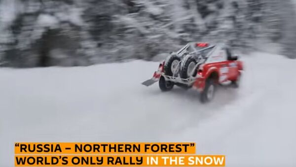 Rally sulla neve - Sputnik Italia