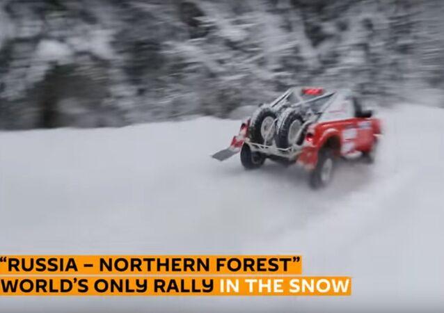 Rally sulla neve