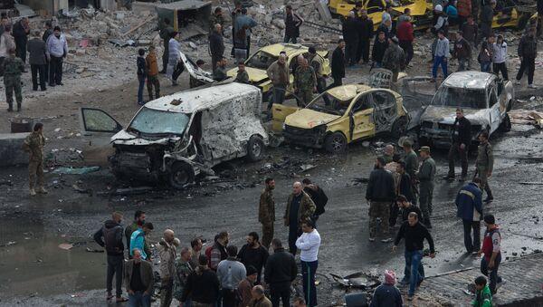 Un attentato in Siria - Sputnik Italia