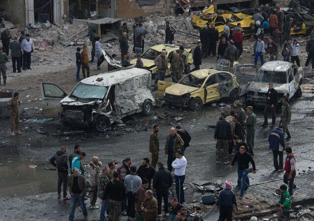Attacco terroristico in Siria (foto d'archivio)