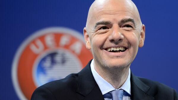 Presidente della Fifa, Gianni Infantino - Sputnik Italia