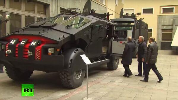 Nuovi autoblindi per le forze speciali russe - Sputnik Italia