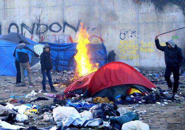 Sgombero della Giungla di Calais