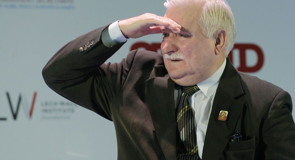 Ex presidente polacco Lec Walesa