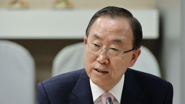 Ban Ki-moon, Segretario generale delle Nazioni Unite - Sputnik Italia