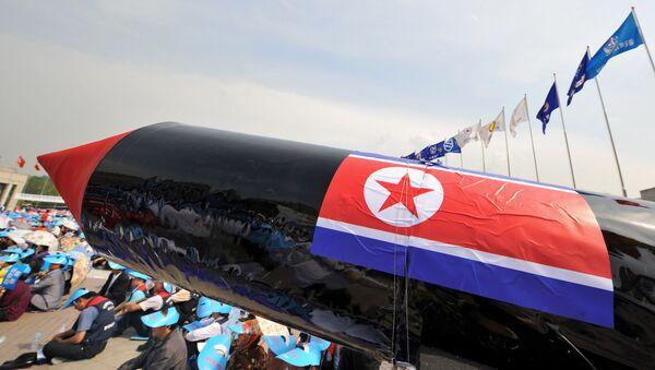 Un missile finto nordcoreano - Sputnik Italia