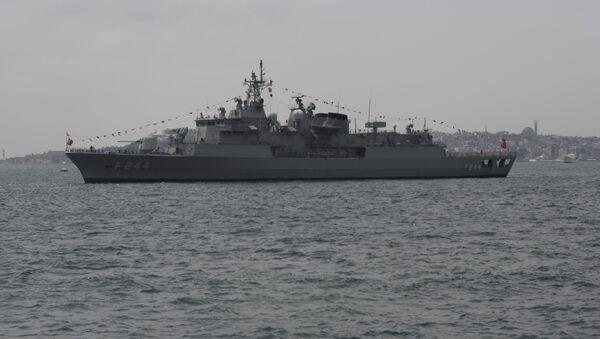 Fregata Barbaros della Marina militare della Turchia  - Sputnik Italia