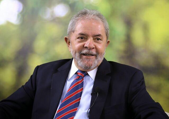 Lula, ex presidente brasiliano