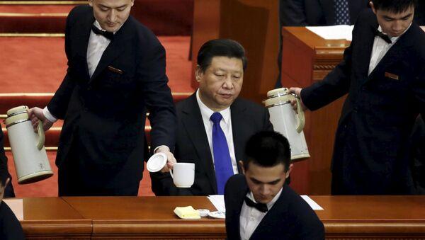 Cina, presidente Xi Jinping all'apertura del Congresso Nazionale del Popolo - Sputnik Italia