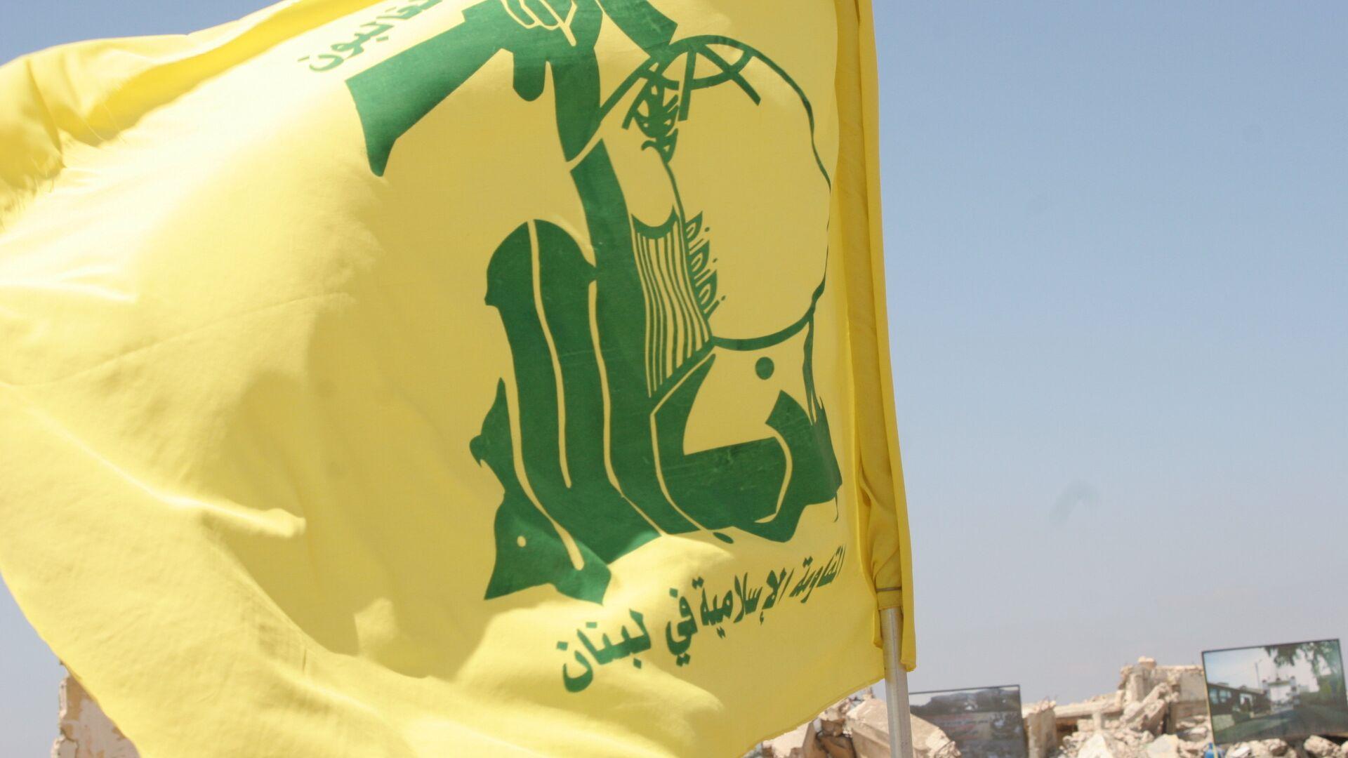 Flag of Hezbollah - Sputnik Italia, 1920, 23.06.2021
