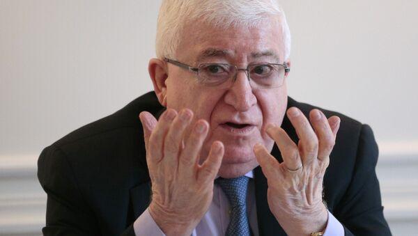 Presidente iracheno Fuad Masum - Sputnik Italia