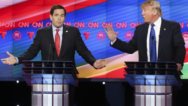 Marco Rubio e Donald Trump - Sputnik Italia