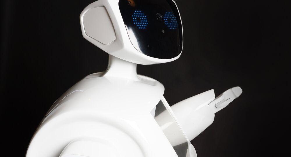 Robot prodotto dalla società russa Promobot