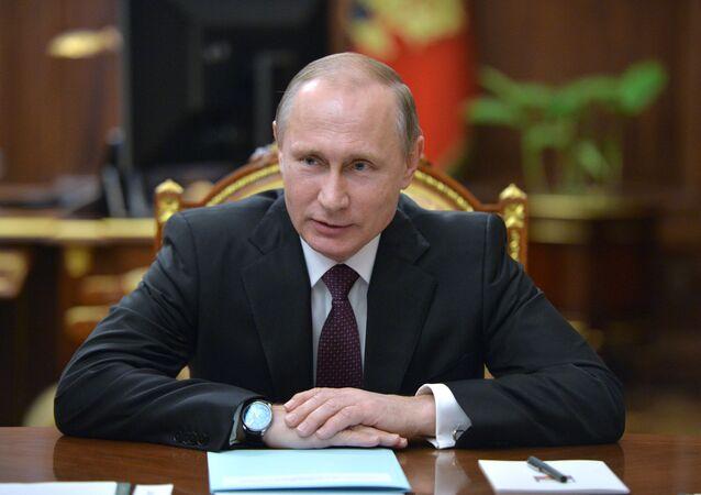 Vladimir Putin al Cremlino