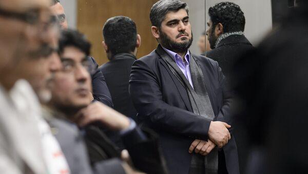 Mohammed Alloush, negoziatore capo dell'opposizione siriana filosaudita - Sputnik Italia