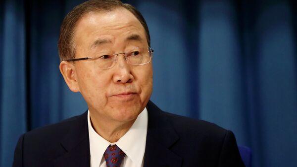 Ban Ki-moon - Sputnik Italia