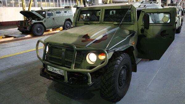 Бронеавтомобиль Тигр - Sputnik Italia