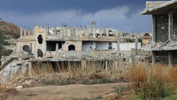 Distruzione della guerra in Siria - Sputnik Italia