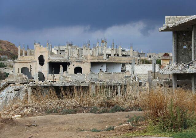 Distruzione della guerra in Siria