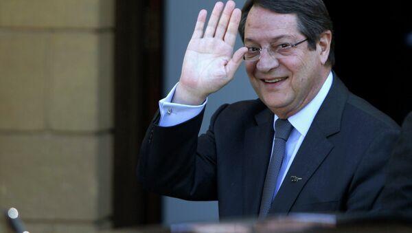 Il presidente cipriota Nicos Anastasiades - Sputnik Italia