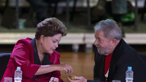 Dilma Rousseff e Luís Inácio Lula da Silva - Sputnik Italia