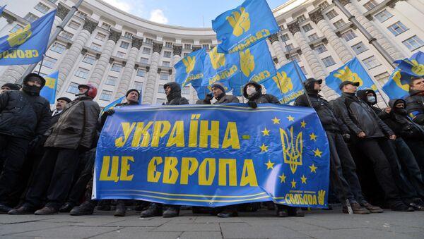 Manifestazioni a KIev: Ucraina è l'Europa - Sputnik Italia