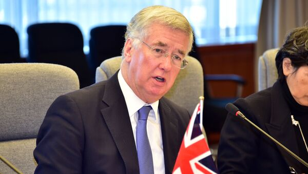 Ministro della Difesa UK Michael Fallon - Sputnik Italia