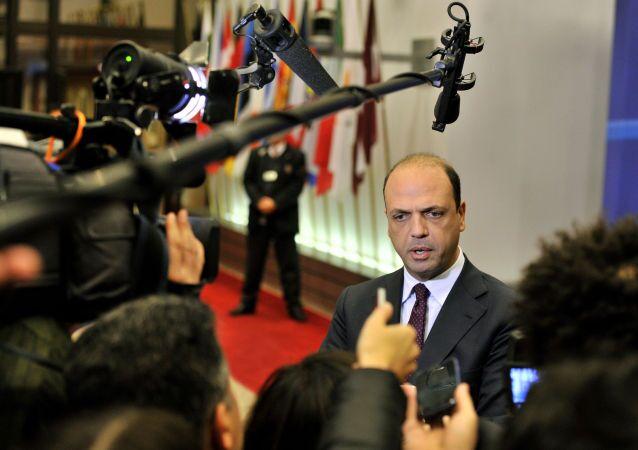 Il Ministro degli Esteri Angelino Alfano