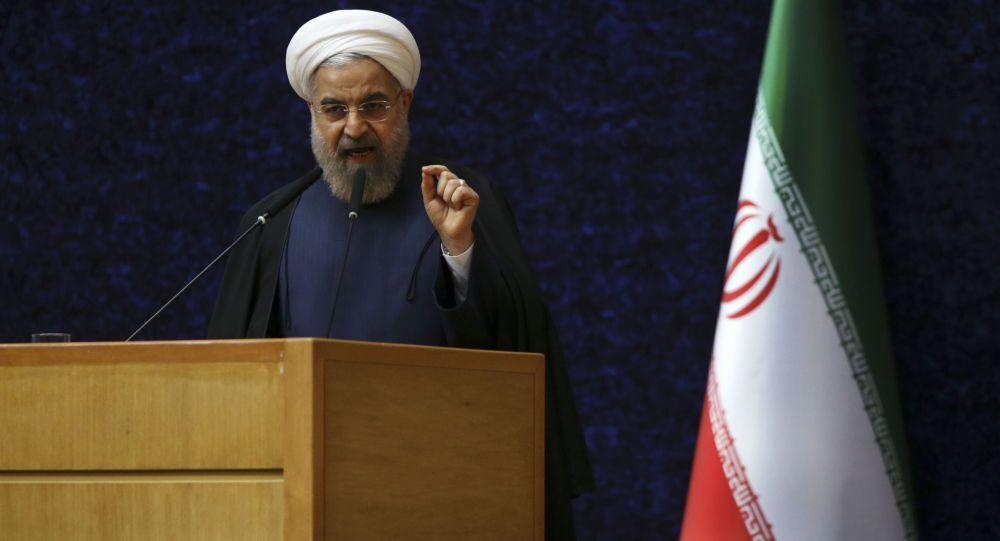 Il presidente Hassan Rohani