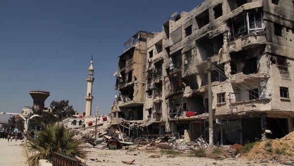 Yarmouk refugee camp in Damascus - Sputnik Italia