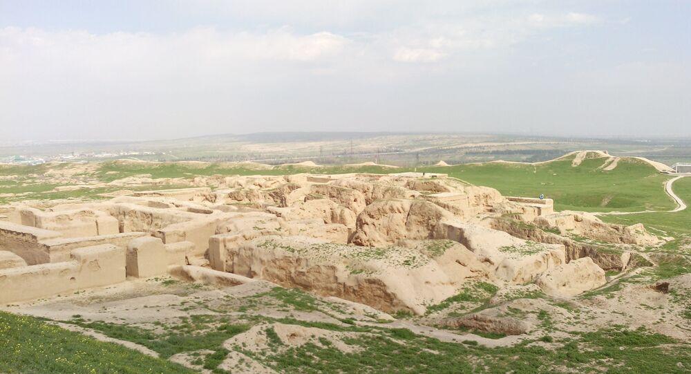 Turkmenistan, l'antica città di Nissa