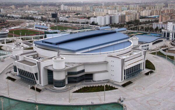 Ashgabat, veduta aerea dell' Arena multisport - Sputnik Italia