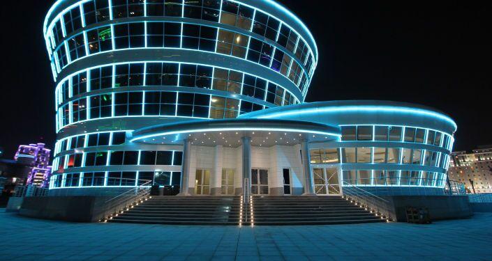 Il ristorante del parco olimpico di Ashgabat