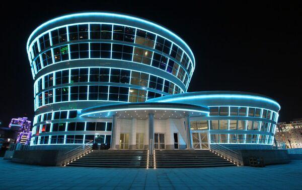 Il ristorante del parco olimpico di Ashgabat - Sputnik Italia