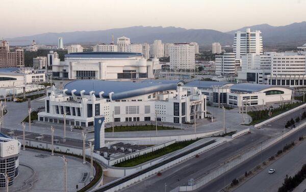 Veduta dell'area del parco olimpico di Ashgabat - Sputnik Italia