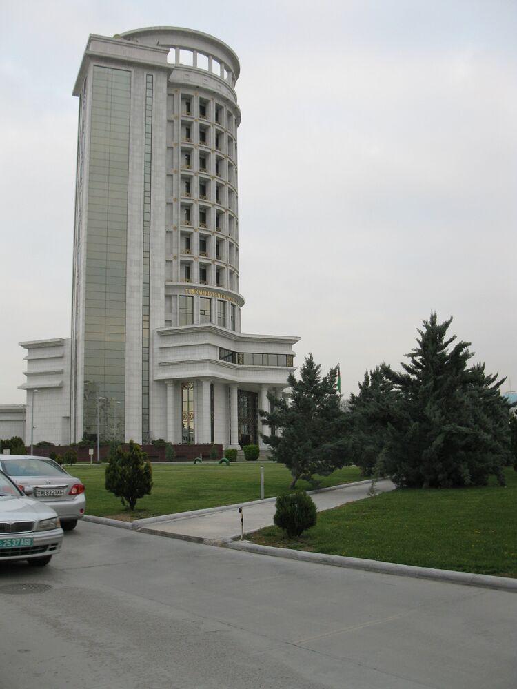 Ashgabat, il ministero dell'Energia
