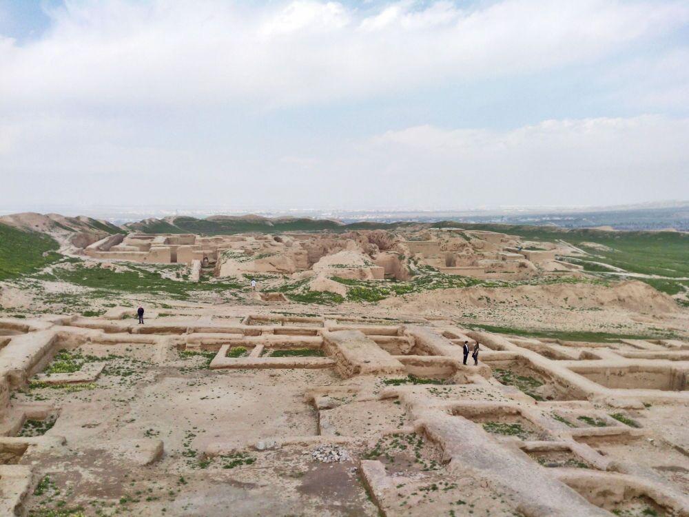 L'antica città di Nissa, fondata dai Parti