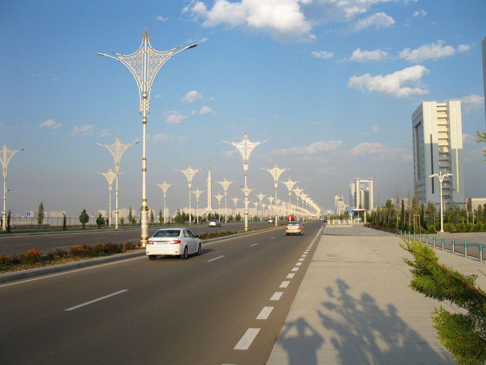 Ashgabat, il corso della Neutralità