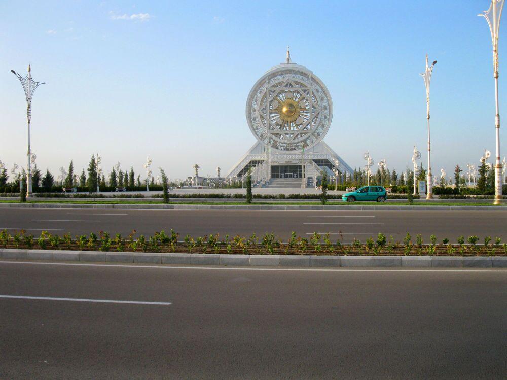 Ashgabat, la ruota panoramica