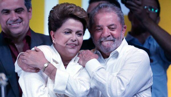 Dilma Rousseff e Lula. - Sputnik Italia