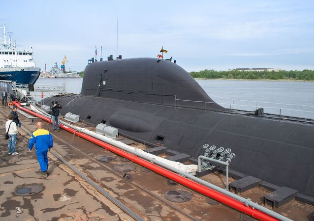 Sottomarino nucleare russo del progetto Yasen